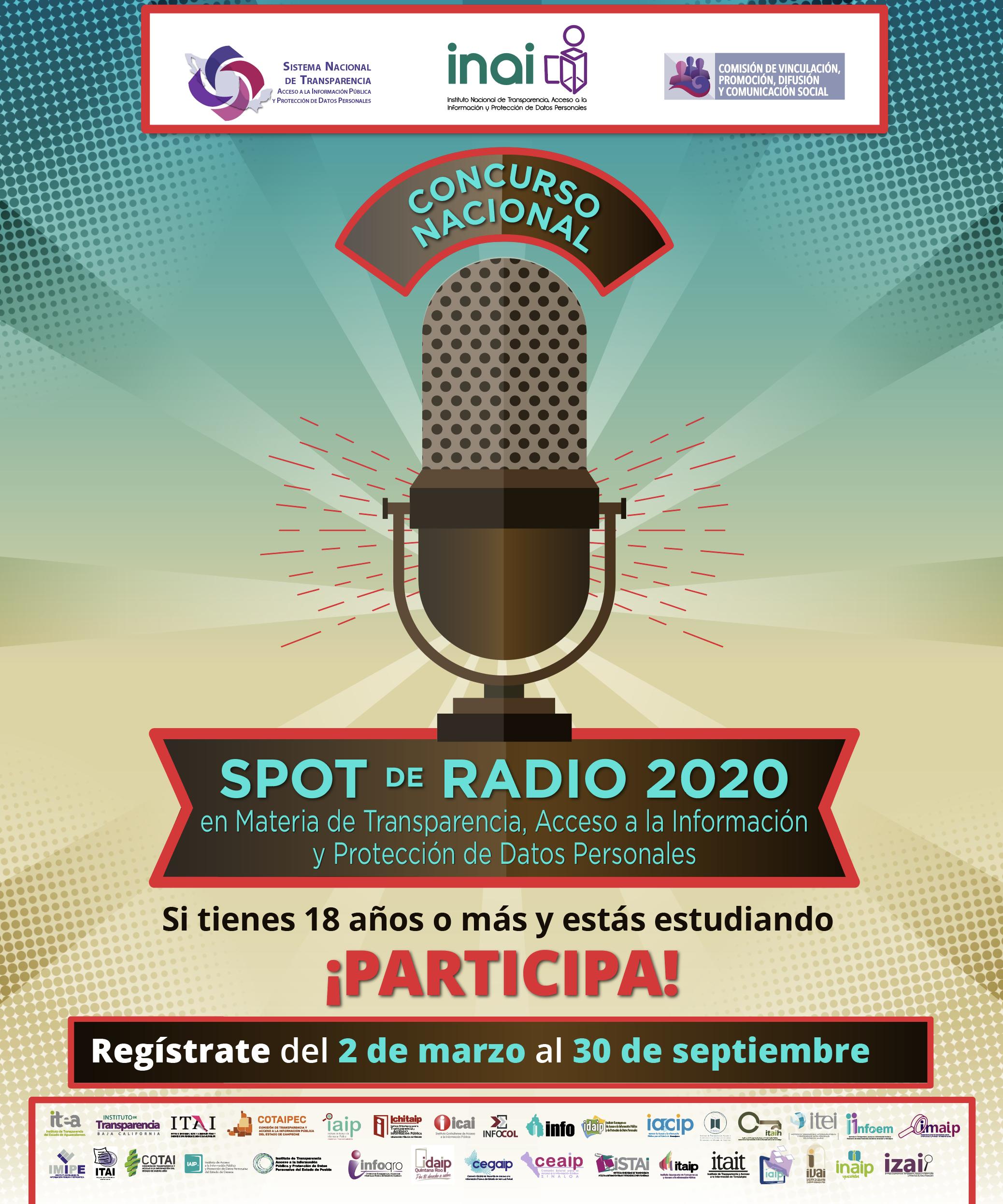 INAI :: Concurso Nacional de Spot de Radio 2020