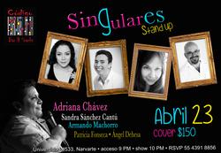 SinGulares, stand up