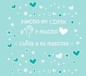 Hecho en CDMX a mano y con mucho amor