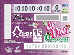 Lotenal, Sorteo de Diez No. 007