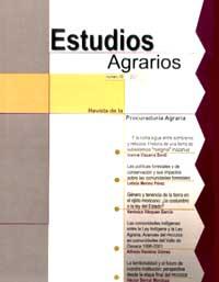 Revista, Estudios Agrarios, 2001 (No. 18)