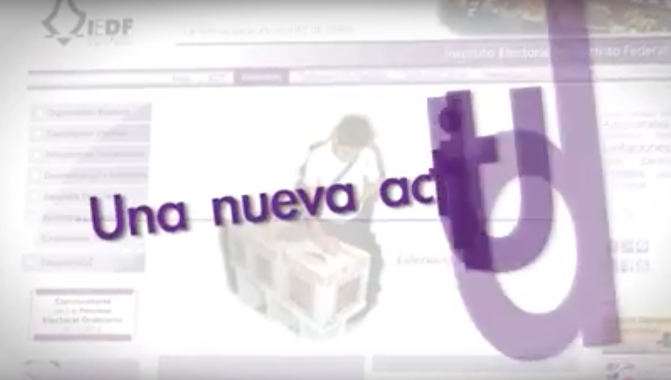 "Video ""Una nueva actitud"", IEDF"