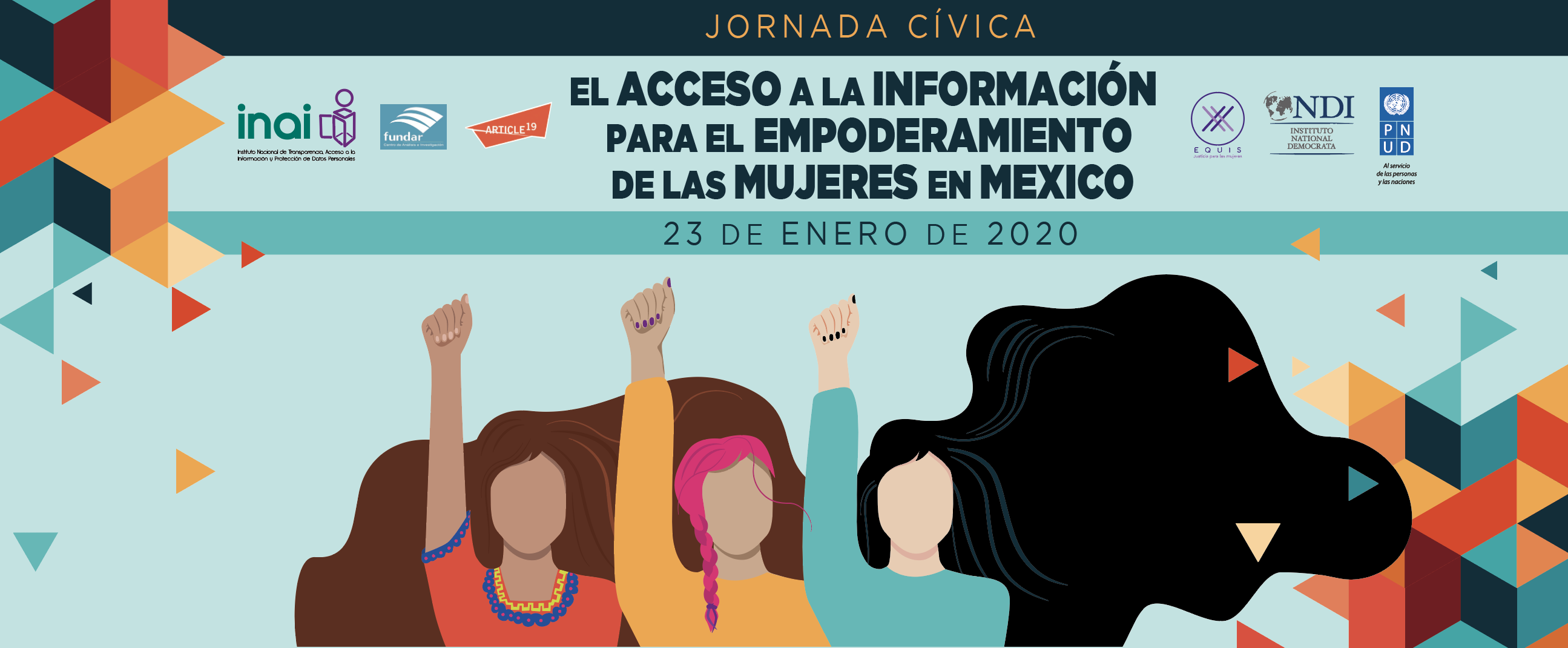 INAI :: Jornada Cívica Empoderamiento de Mujeres