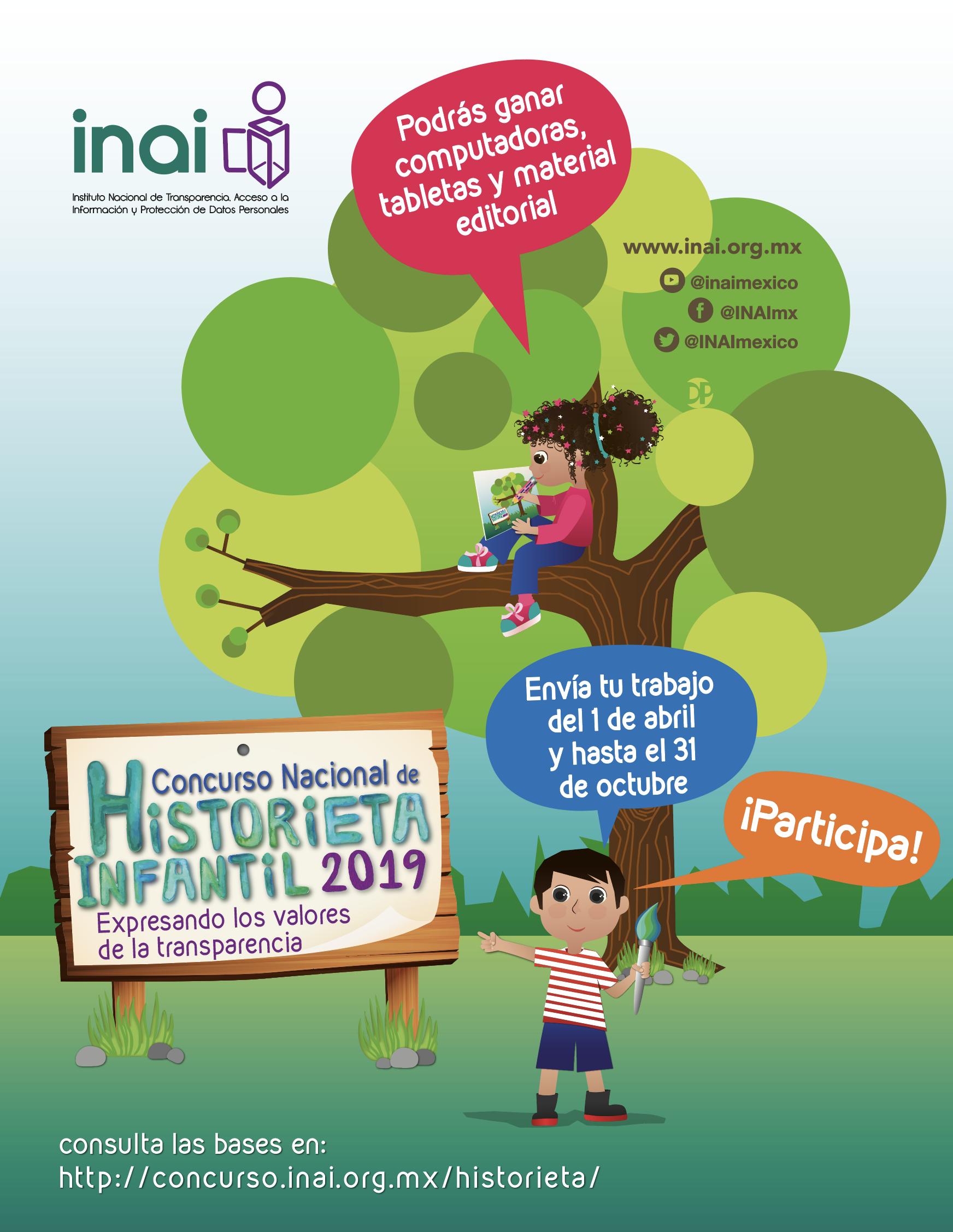 INAI :: Concurso Nacional de Historieta Infantil 2019