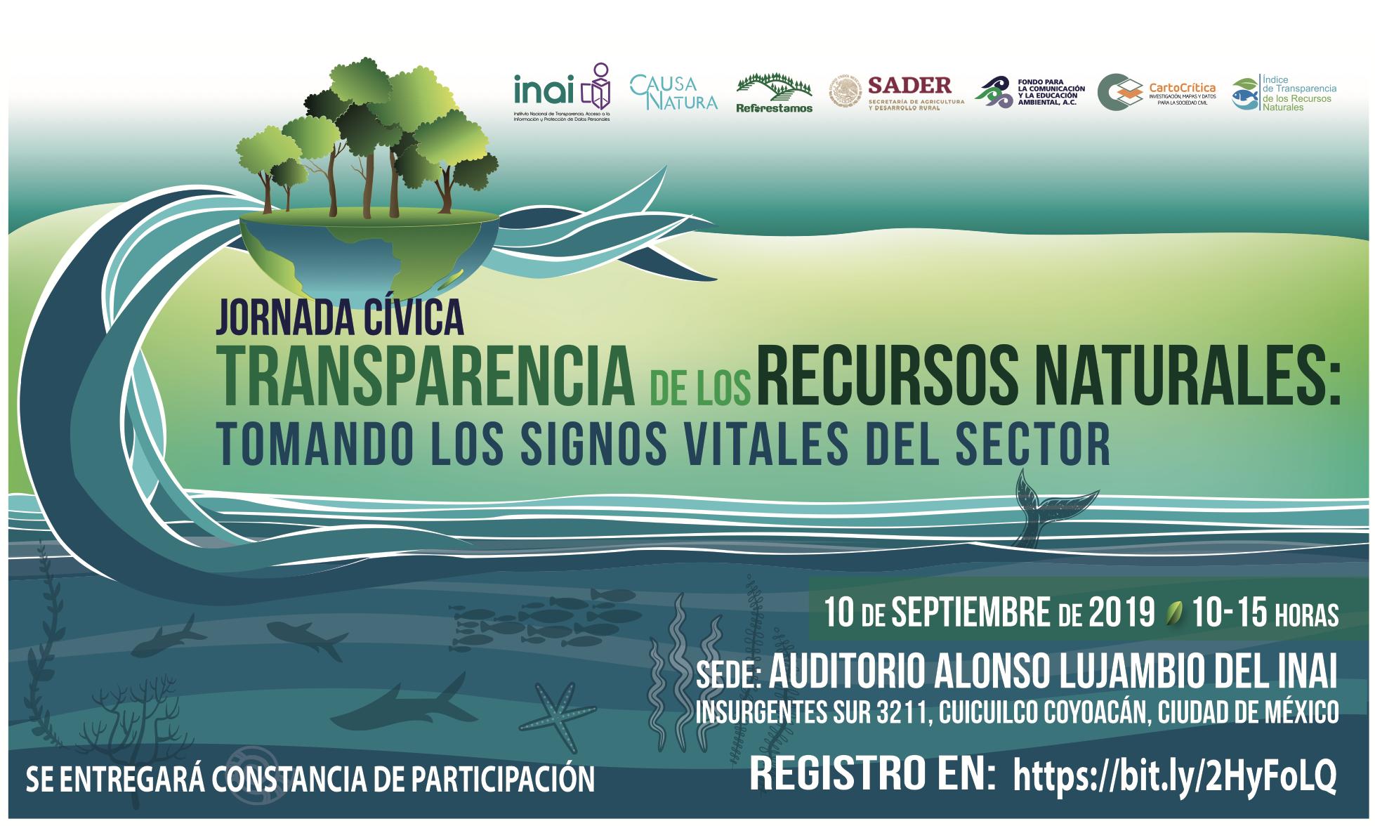 INAI :: Jornada Cívica, Transparencia de los Recursos Naturales