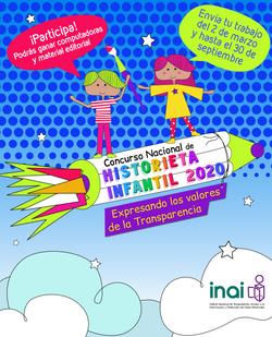 INAI :: Concurso Nacional de Historieta Infantil 2020