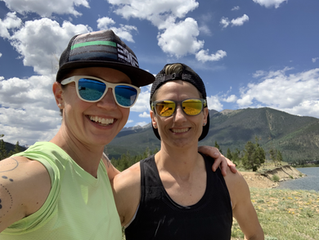 Crewing my Crew :) | Silver Rush 50 Mile Race