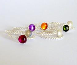 Janet Royle Jewellery gem stack ring
