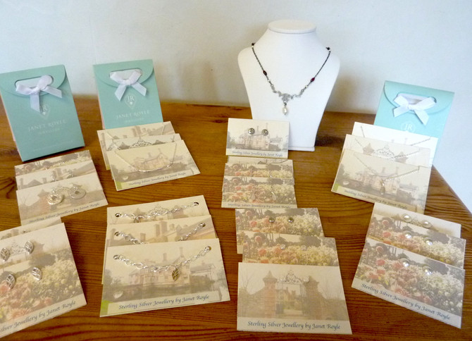 Buy my pieces at Baddesley Clinton NT