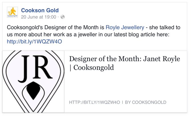 I'm Designer of the Month!
