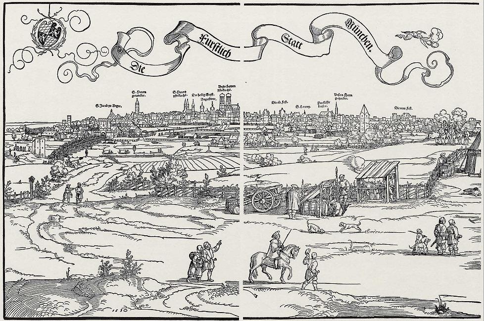 Ansicht von München - Hans Sebald Beham