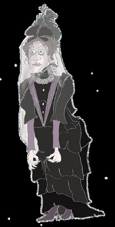 Schwarze Frau der Residenz von München, Schwarze Frau der Wittelsbacher