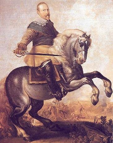 Schwedenkönig Gustav-Adolf