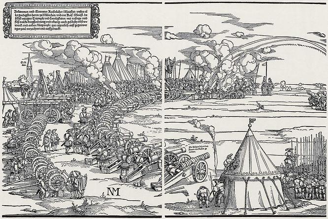 Hans Sebald Behums Holzschnitt von München