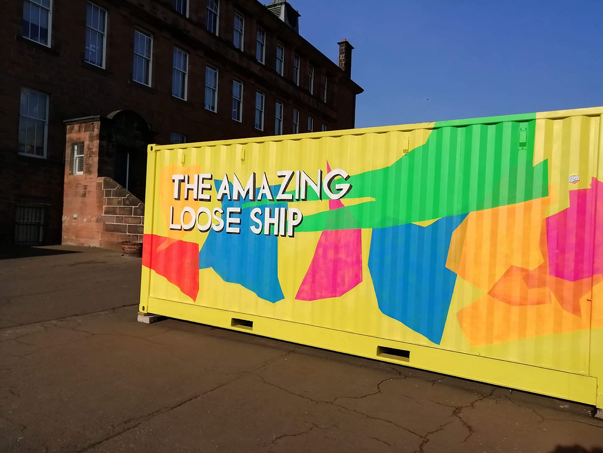 The City of Play-The Amazing Loose Ship-Shipping Container