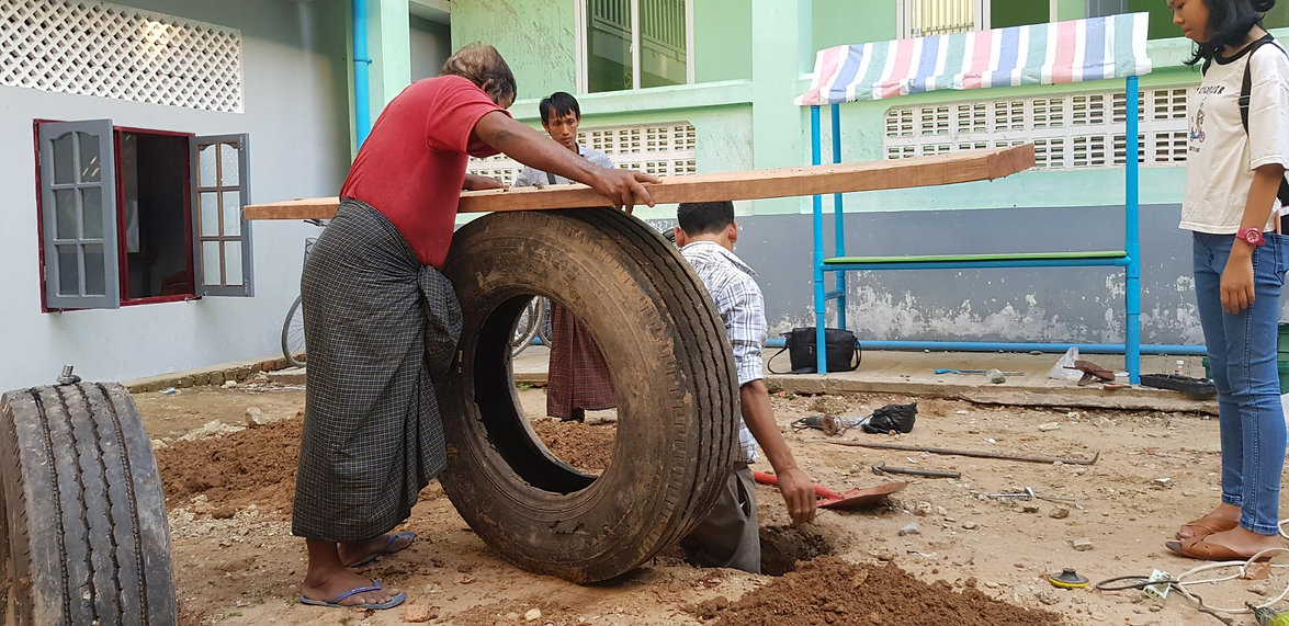 The City of Play-Playground Ideas-Myanmar-Tyres-Repurposing-Upcycle