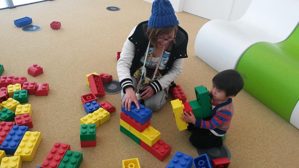 Maraikan, Building Blocks