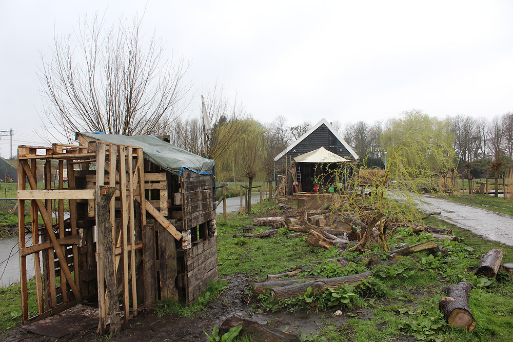 Pallet Wood Den and Adventure Clubhouse