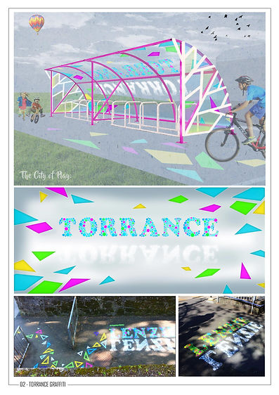 The City of Play-Torrance Primary School-CoDesign-Youth Engagement-Design For Play-Play Design-Ground Artworks-Cycle Friendly-Community