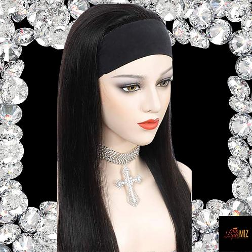 Headband Wig 16 straight