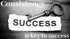 Here is the key to being successful
