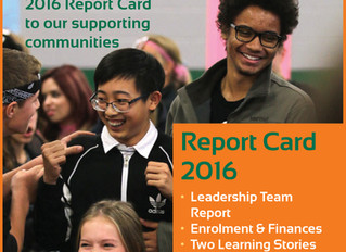 Have You Seen Our Latest Report Card?