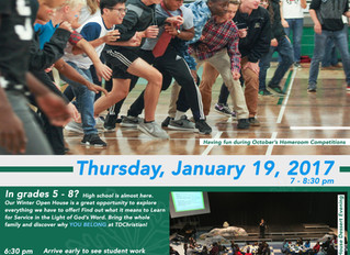 Winter Open House is Coming!