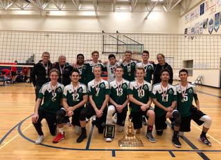 TDChristian Wins OCSSAA Gold in Boys' Volleyball!