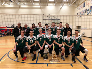 TDChristian Wins OCSSAA Gold in Boys' Volleyball!