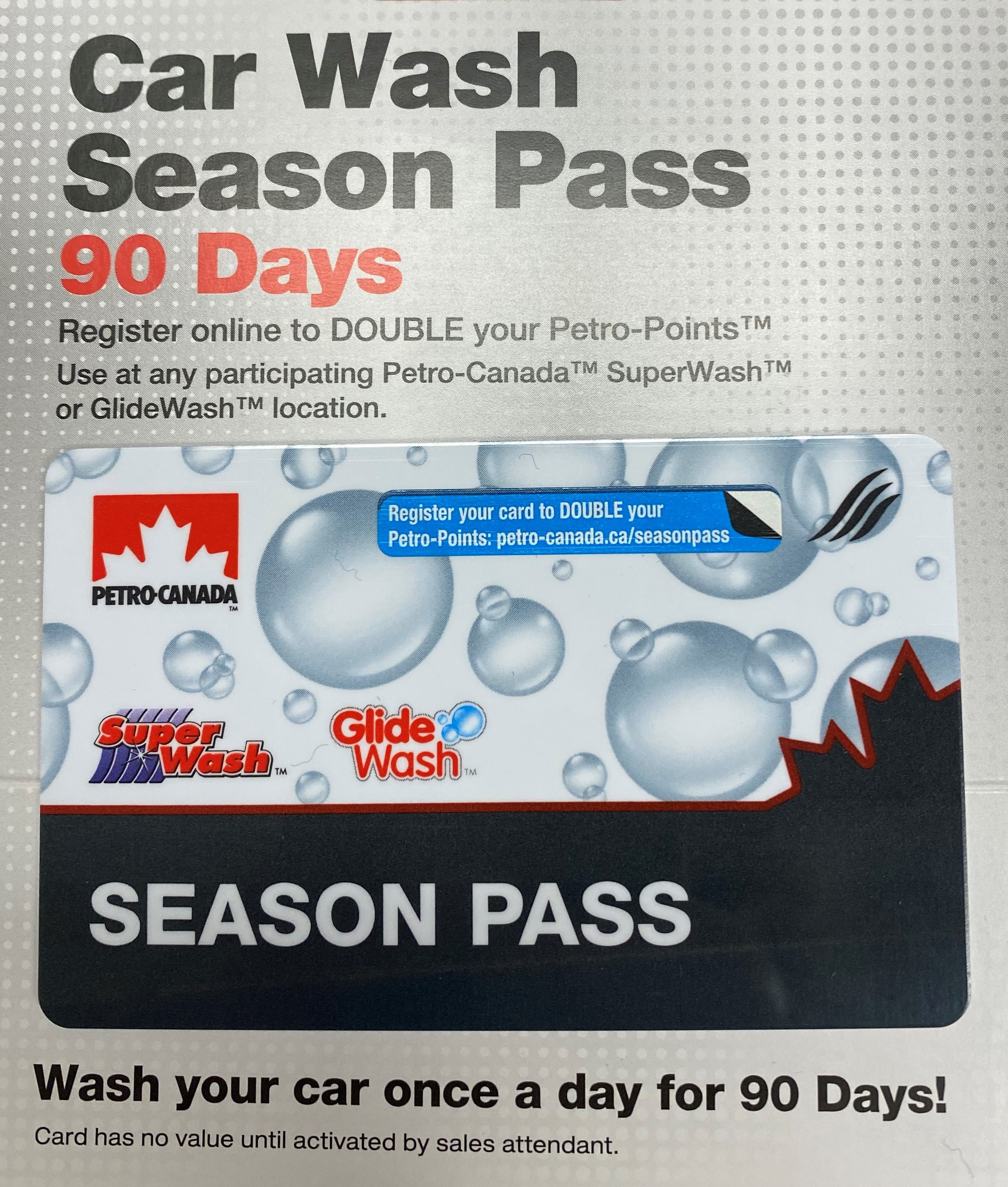 Car Wash Season Pass