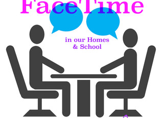 Creating FaceTime in our Homes & School