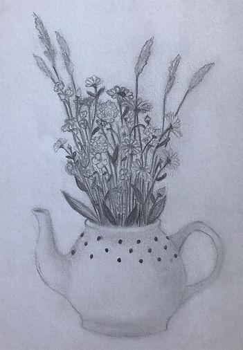 Artwork by Jessica Jackson, Grade 10
