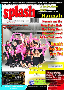 Our Hen Pop Star Parties A4 Heat Style Magazine Poster