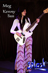 Bass Guitar Lessons At Splash With Top Coach Meg Kenny
