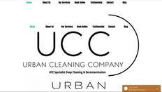 Urban Cleaning Site   Splash Web Design