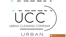 Urban Cleaning Site | Splash Web Design