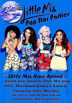 Splash Productions Little Mix kids party / Childrens parties renfrewshire