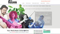 Musaro Site   Splash Web Design