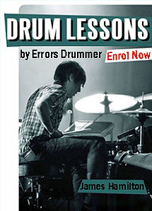 Drum Lessons At Splash Productions With Top Drum Coach James Hamilton