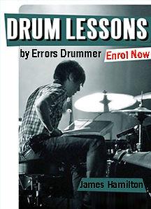 Drum Lessons At Splash Productions With Top Drum Coach James Hamilton
