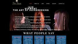 Iain Stewart Hair Paisley | Splash Web Design