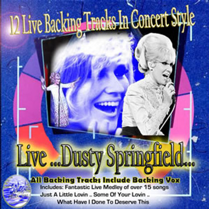 Dusty Springfield Live Backing Tracks