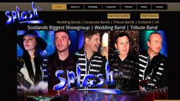 Splash Showgroup Website