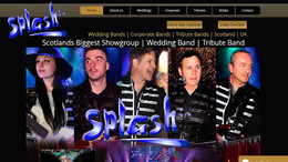 Splash Showgroup Website