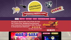 Showbuzz Productions   Splash Web Design