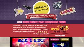 Showbuzz Productions | Splash Web Design