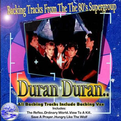 Duran Duran Live Backing Tracks