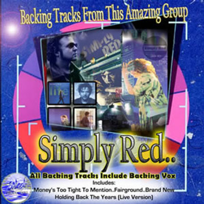 Simply Red Live Backing Tracks