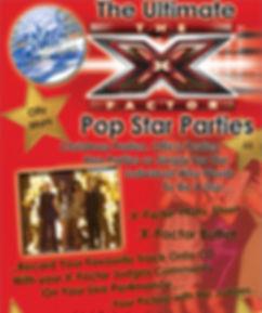 X Factor theme kids parties renfrewshire at Splash Production