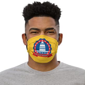Dark Yellow Face Mask